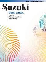 Suzuki Violin School 6 - Piano Acc. (Revised)