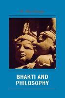 Bhakti and Philosophy (Paperback)