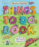 Things To Do Book (Hardback)