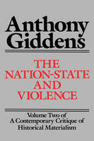 Contemporary Critique of Historical Materialism: Nation State and Violence v. 2 (Paperback)