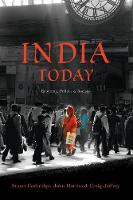 India Today: Economy, Politics and Society - Politics Today (Paperback)