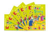 Easter Story Sticker Book: 5 Pack - My Very First Sticker Books (Paperback)