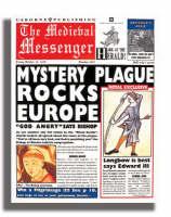 Newspaper Histories The Medieval Messenger (Paperback)