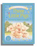 Usborne Fairytale Sticker Stories The Three Little Pigs - Fairytale Sticker Stories (Paperback)
