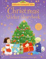 Christmas Stickerbook - Farmyard Tales (Paperback)