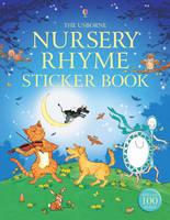 Nursery Rhyme Sticker Book (Paperback)