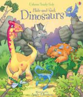 Hide and Seek Dinosaurs (Board book)