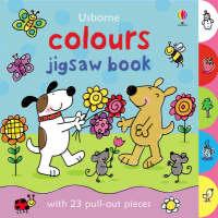 Colours - Usborne Jigsaw Books S. (Board book)