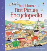 First Picture Encyclopedia - Usborne First Picture Books (Board book)