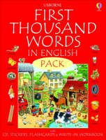 First 1000 Words Pack - English - Usborne First Thousand Words