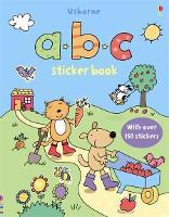 ABC Sticker Book - First Sticker Books series (Paperback)