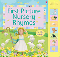 First Picture Nursery Rhymes: Sound Book (Hardback)