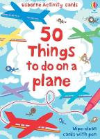 50 things to do on a plane - Activity Cards