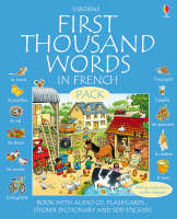 First 1000 Words Pack - French - Usborne First Thousand Words