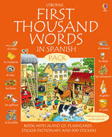 First 1000 Words Pack - Spanish - Usborne First Thousand Words