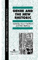 Genre In The New Rhetoric (Hardback)