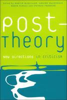 Post-theory: New Directions in Criticism (Paperback)