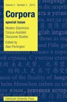 Modern Diachronic Corpus-Assisted Discourse Studies: Corpora 5.2 (Paperback)