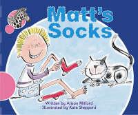Spotty Zebra Pink A Change - Matt's Socks