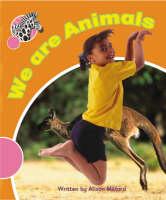 Spotty Zebra Pink A Change - We are Animals