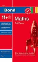 Bond 11+ Test Papers Maths Standard Pack 1 (Paperback)