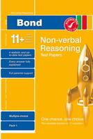 Bond 11+ Test Papers Non-Verbal Reasoning Multiple Choice Pack 1 (Paperback)