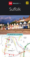 Suffolk - AA 50 Walks Series (Paperback)