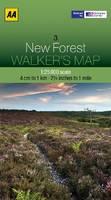 New Forest - Walker's Map (Sheet map, folded)