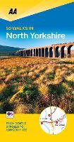 50 Walks in North Yorkshire - AA 50 Walks (Paperback)