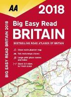 AA Big Easy Read Atlas Britain 2018
