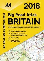 AA Big Road Atlas Britain 2018 (Paperback)