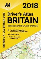 AA Driver's Atlas Britain 2018 (Paperback)