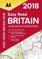 AA Easy Read Atlas Britain 2018