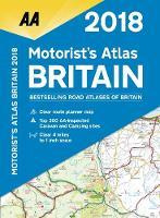 AA Motorist's Atlas Britain 2018 (Spiral bound)