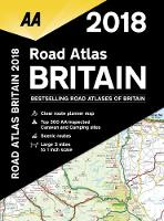 AA Road Atlas Britain 2018 (Spiral bound)