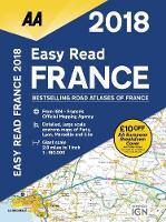 AA Easy Read Atlas France 2018