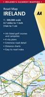 AA Road Map Ireland (Sheet map, folded)