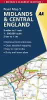 Midlands & Central England - AA Road Map Britain 5 (Sheet map, folded)
