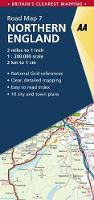 Northern England - AA Road Map Britain 7 (Sheet map, folded)