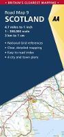 Scotland - AA Road Map Britain 9 (Sheet map, folded)