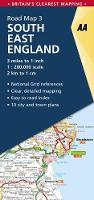 South East England - AA Road Map Britain 3 (Sheet map, folded)