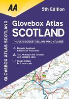 Glovebox Atlas Scotland (Paperback)