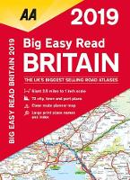 AA Big Easy Read Atlas Britain 2019