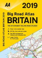 AA Big Road Atlas Britain 2019