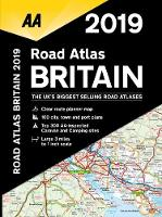 AA Road Atlas Britain 2019