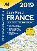 AA Easy Read Atlas France 2019