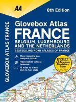 AA Glovebox Atlas France (Spiral bound)