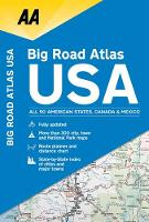 AA Big Road Atlas USA (Paperback)