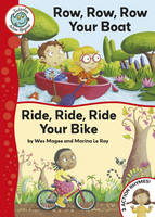 Row, Row, Row, Your Boat: Ride, Ride, Ride Your Bike - Tadpoles Action Rhymes 5 (Hardback)