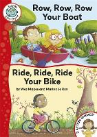 Tadpoles Action Rhymes: Row, Row, Row Your Boat / Ride, Ride, Ride Your Bike - Tadpoles Action Rhymes (Paperback)